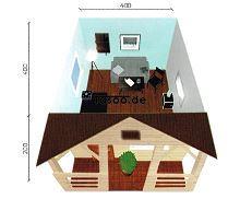 MI-D3a Ferienholzhaus