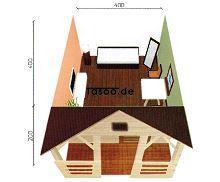 MI-D4 Ferienholzhaus