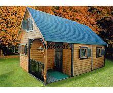 MI-D7 Ferienholzhaus mit Dachgeschoss