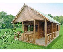 MI-K4 Ferienholzhaus mit Zwischengeschoss
