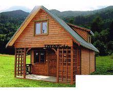 MI-Ganzjähriges-Ferienholzhaus Ganzjähriges Ferienholzhaus