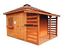 MI-N6 Holz Gerätehaus