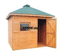 MI-N2 Holz Gerätehaus