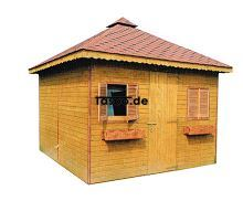 MI-N3 Holz Gerätehaus