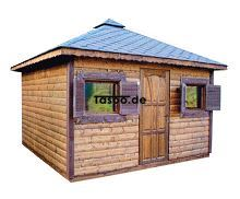 MI-N3-bis Holz Gerätehaus