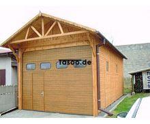 MI-SBP Garage Überdachung  mit Schiebetor