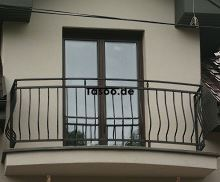 Metallbalustrade